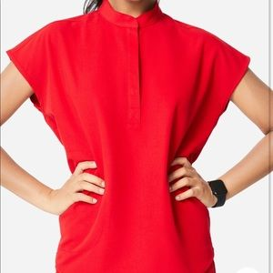 Figs rafaela top in red!